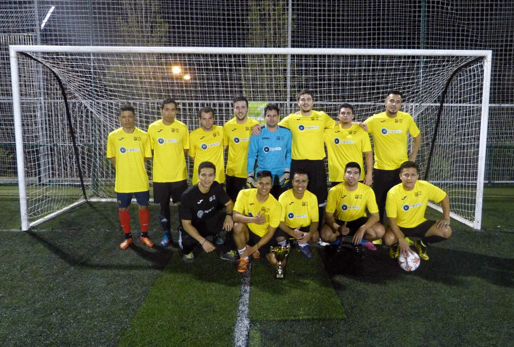 El equipo de microcemento – IngreMic Fc Subcampeón