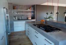 Cocinas de microcemento - Microcemento en cocinas ...