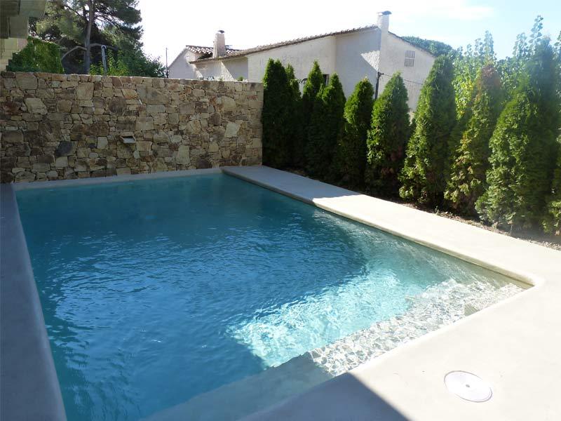 Piscinas de microcemento ingremic 4 ingremic - Microcemento para piscinas ...