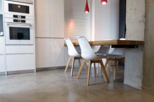 suelos para cocinas microcemento1 - Suelos Microcemento